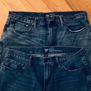 2 Pair of MEN'S GAP RELAXED Fit Jeans
